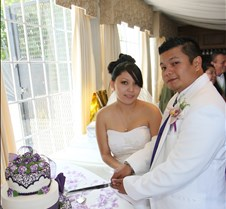 5 Grand Entrance, Toast & Cake Photographs Paula & Jonathan Wedding May 9, 2009; Simon's, San Pedro Beach CA.  Any image in these albums can be customized and corrected!  Images can be converted to Black & White.  Just ask.  I am available for weddings, special events, dances, and award dinners.  I