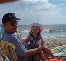 Caitlin and Bob on Beach