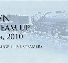Ron Brown Memorial Steam Up Banner