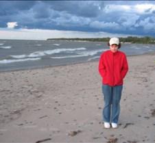 Beach at Lake Erie SP