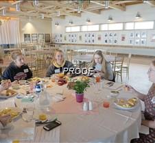 Senior girls lunch 2