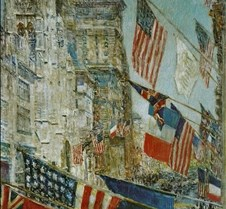 Allies Day May 1917-Childe Hassam-1917-N