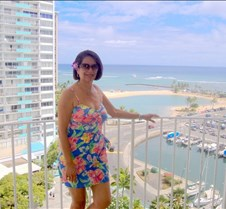 Hawaiian beauty & view from our Hotel