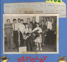 Demolay band 1962
