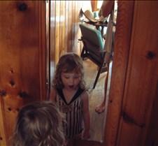 Caitlin Looking in Mirror
