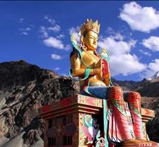 32 metre statue of Maitreya Buddha near
