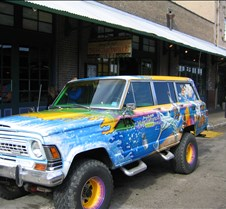 Margaritaville company vehicle