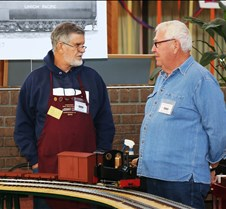 Jim Fisher & Leroy Patterson at DH-2013