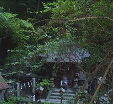 smaller temple on the mountain