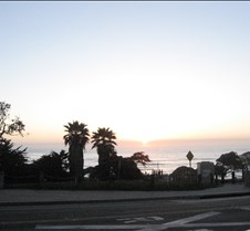 Sun Set in San Deigo Beach