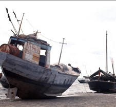 Fishing Boats Near Vung Tau