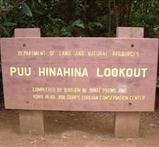 Puu Hinahina Lookout