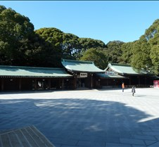 Meiji Shrine Complex (Left)