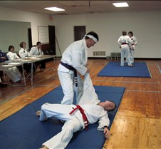 Karate Promotion Dan and Brad 20021214