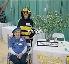 Be Kind booth