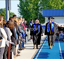 Processional with MAHS staff