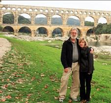 Rick & Denise Parker at Roman Aqueduct