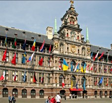 Town Hall of Antwerp Belgium