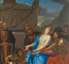The Sacrifice of Polyxena - Charles Le B