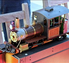 Accucraft  0-4-4 Live Steam Forney