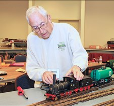 Jerry Reshew & His Marklin DB 89 Loco