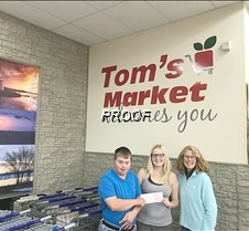 Toms donation