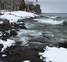 Split Rock Lighthouse Winter 17