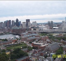 View of Boston from Bunker Hill