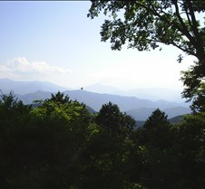 First shot taken off top of Takao