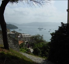 Portovenere - walking down from castle