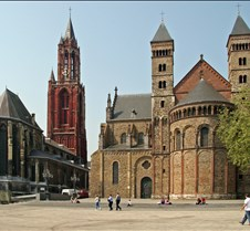 Two Churches in Maastricht Holland