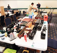 One of Many Work Tables at NSS-2011