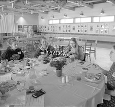 BW Senior girls lunch 2