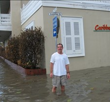 Key West flooded after a heavy rainstorm