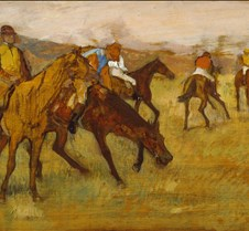 Before the Race-Edgar Degas-1882-84-Walt