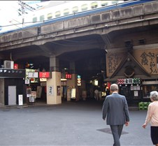 Tokyo side street opposite direction