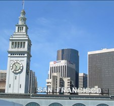 Clock & San Francisco