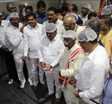 Akshaya Patra Kitchen Inauguration of the new kitchen in Narsingi, near Hyderabad