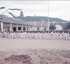 School Children Before Classes