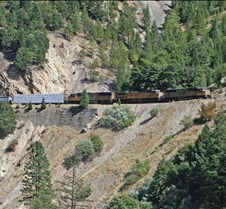 UP-4809 Westbound High Above CA-70