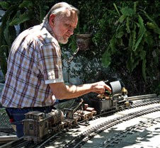 Howard Maculsay And Scratch Built Train