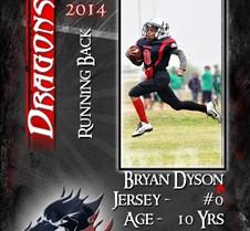 1404-0027 - Bryan Dyson - Trader Card -