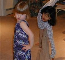 Audra and Nyla posing