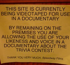 Documentary Warning Close-up