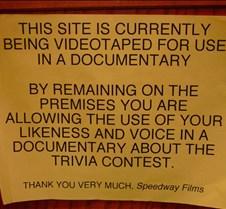 Documentary Warning Close-up