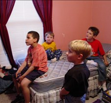 Nick, Danny, Matt, Tyler playing