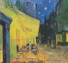 Terrace of the Café-Vincent van Gogh