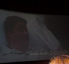 Begining Credits - Director Vicente Juar