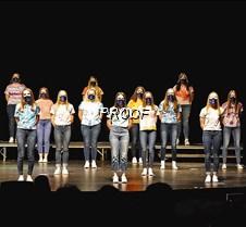 Womens choir straight on look
