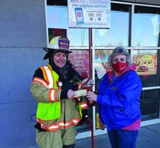 Villard Fire Dept Donation 12-19-2020